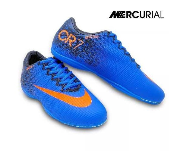 Chuteira Futsal Infantil Mercurial Cr7 - R  59 edf1fa81b97f4