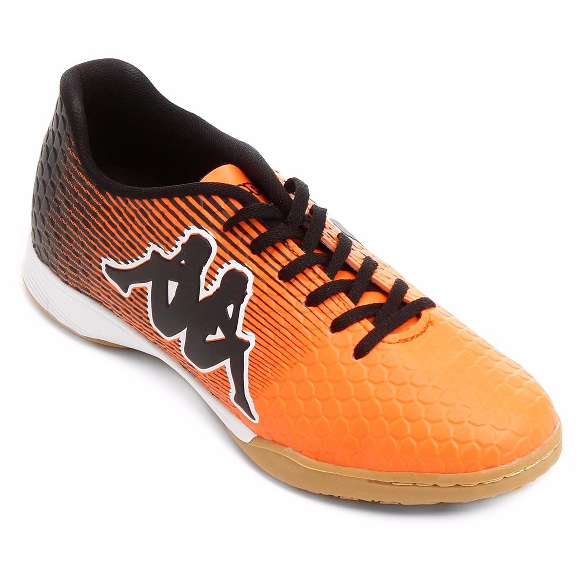 699e0faab9 chuteira futsal kappa fortore original laranja e preto. Carregando zoom.