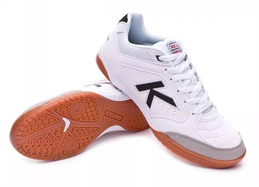 02de1b8941b Chuteira Futsal Kelme Precision Lnfs Off White 100% Original - R ...