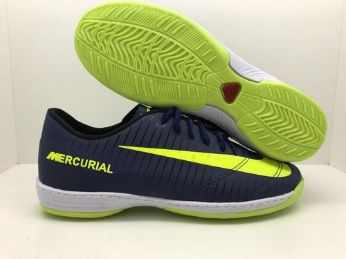 chuteira futsal mercurial  costurada promoção frete gratis
