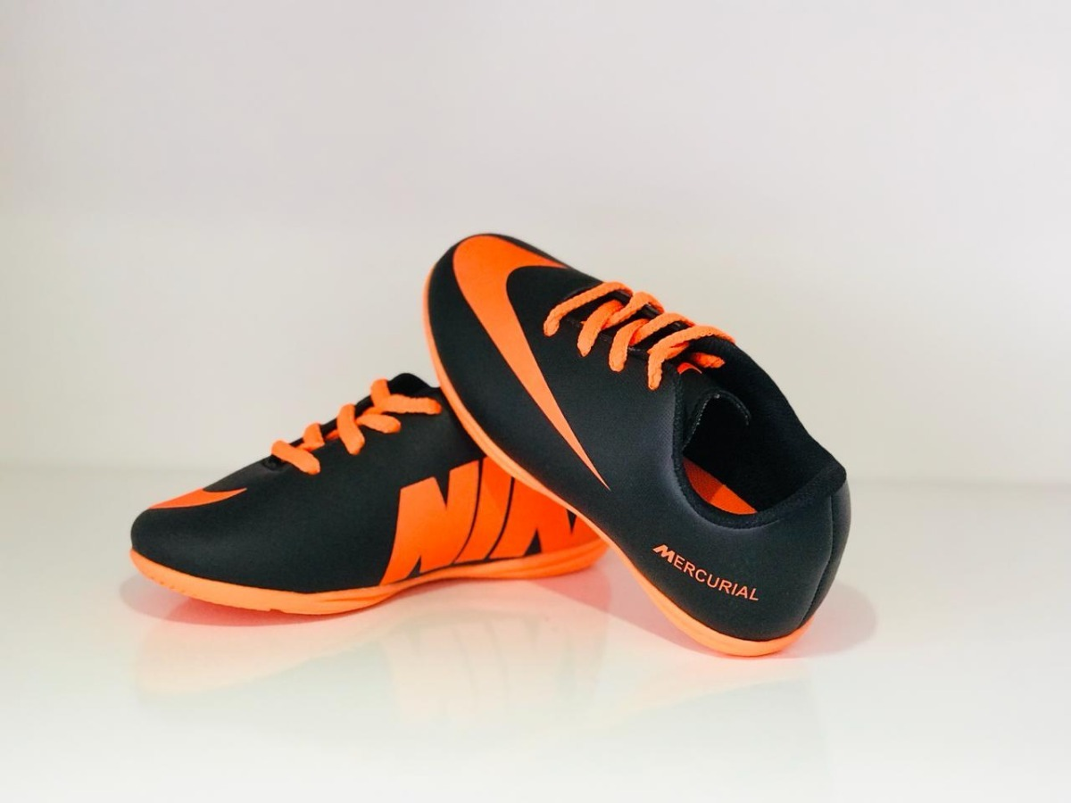 815b81b53e81f Chuteira Futsal Mercurial Meninos Bebe Infantil 18 Ao 25 - R$ 95,00 ...