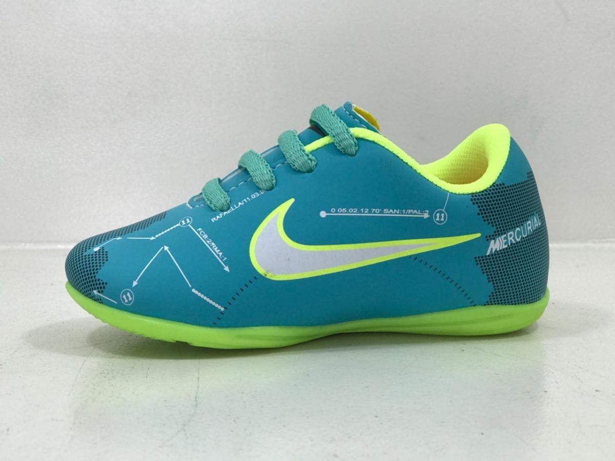 773a334e36c69 Chuteira Futsal Mercurial Meninos/meninas Bebe Infantil - R$ 59,90 ...