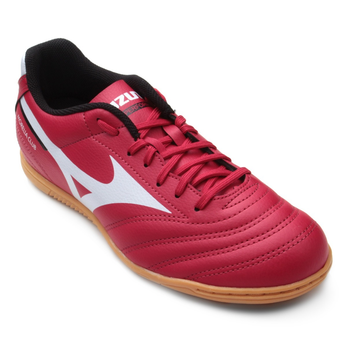 chuteira futsal mizuno morelia club in n masculina -vermelho. Carregando  zoom. 8811effec45a7