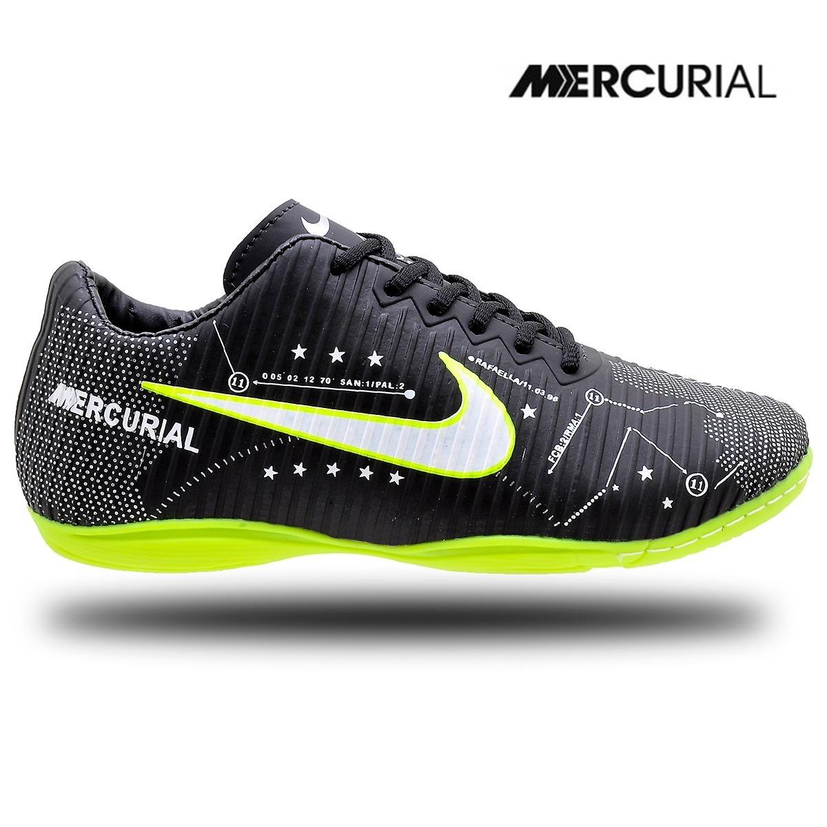 Chuteira Futsal Neymar Adulto 27 Ao 43 Para Quadra - R  89 41dc8416cfd96