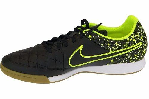 e3ebabb068 Chuteira Futsal Nike Tiempo Genio Leather Ic Couro N 1magnus - R ...