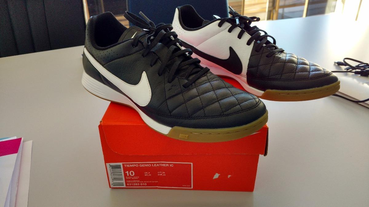 huge discount 2856a 6cffc chuteira futsal nike tiempo genio leather ic -  frete grátis. ec069d5438332