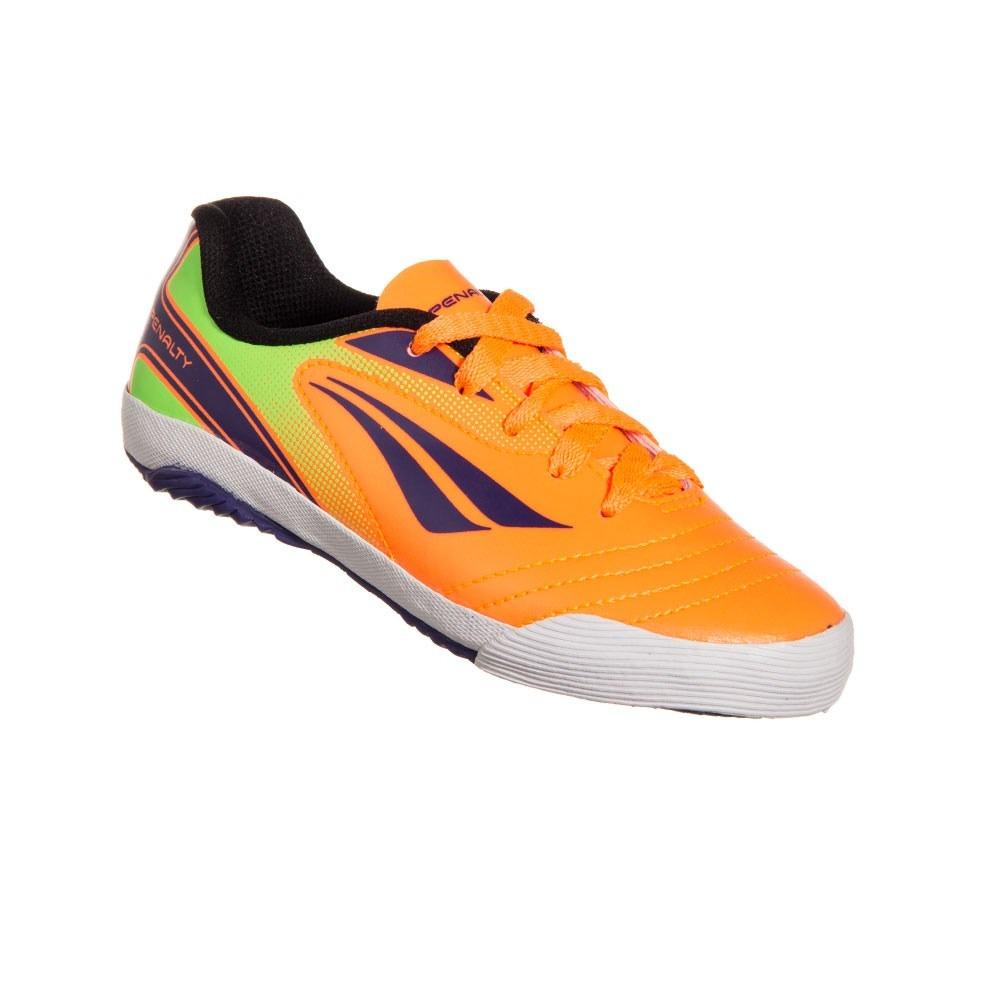 Chuteira Futsal Infantil Penalty Atf K Rocket V Laranja - R  37 55a17c80567e5