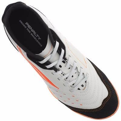 8393d81aa4264 Chuteira De Futsal Profissional Penalty Max 500 - R  199