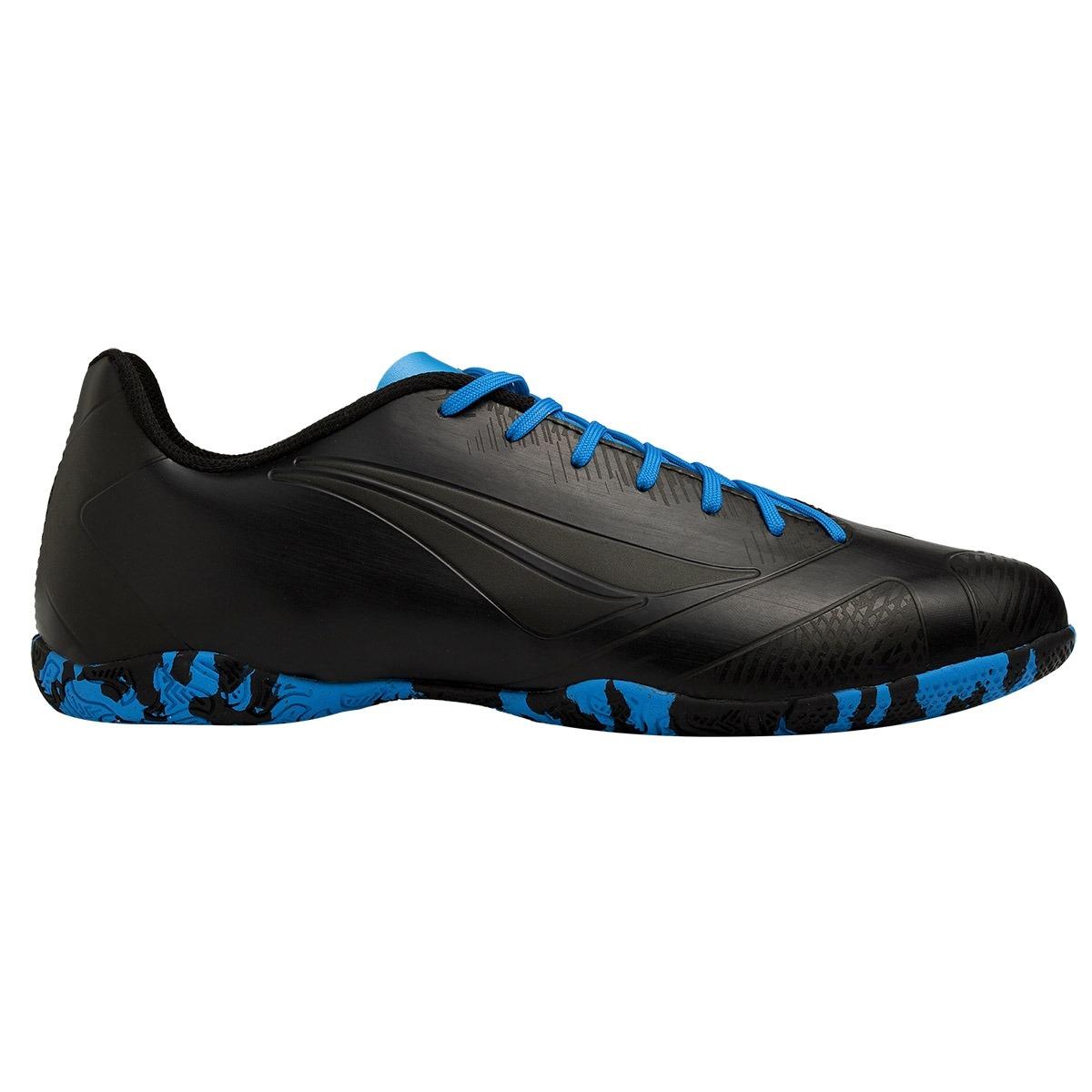 chuteira futsal penalty victoria rx vi preto azul. Carregando zoom. b4ea29dcc2558