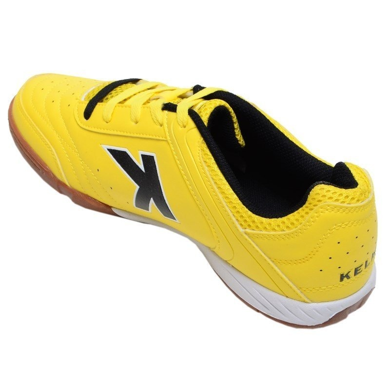 9f1654afa6 chuteira futsal precision trn kelme amarela. Carregando zoom.
