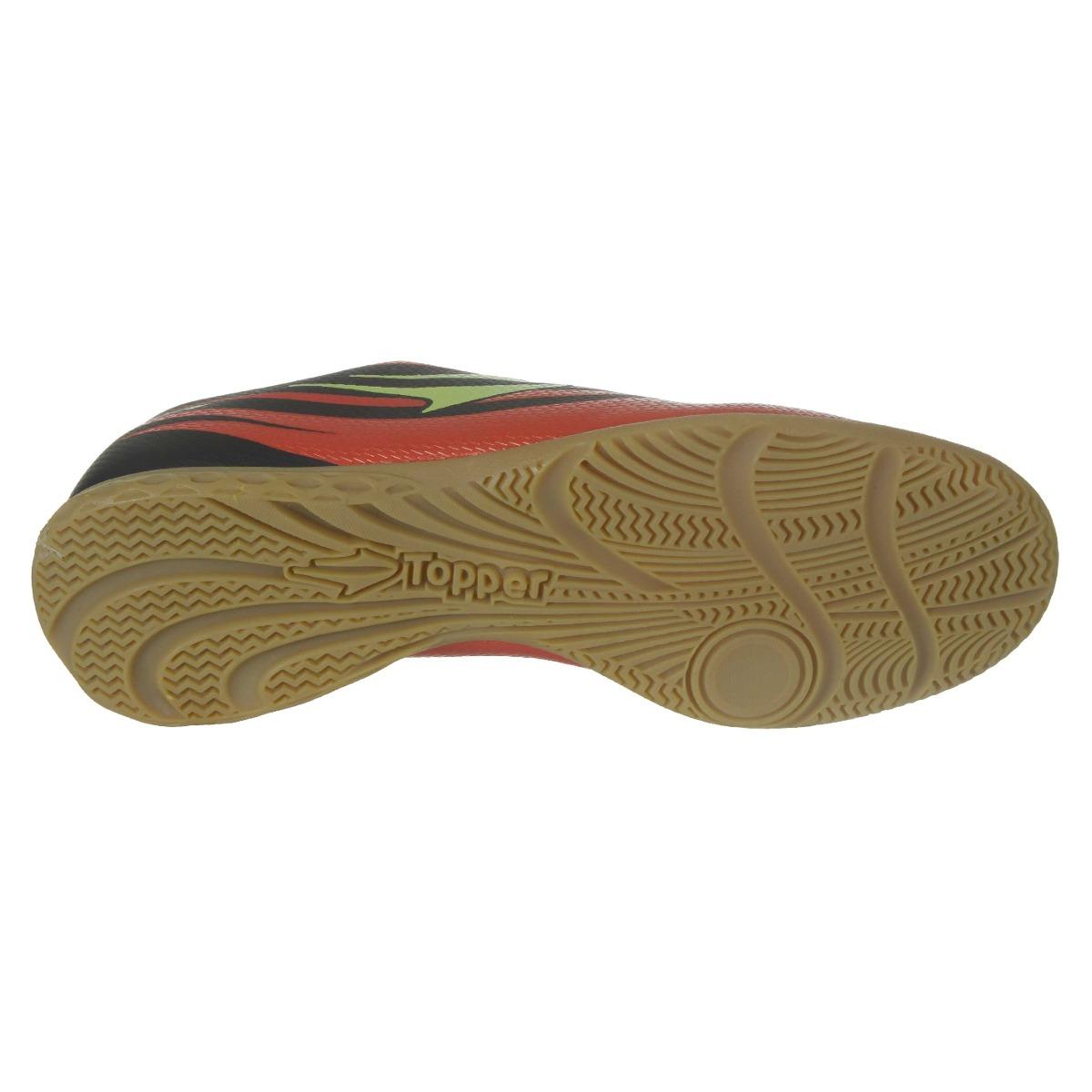 1f34c803cd8ae Chuteira Futsal Topper Rapina 3 Masculino - R$ 149,90 em Mercado Livre