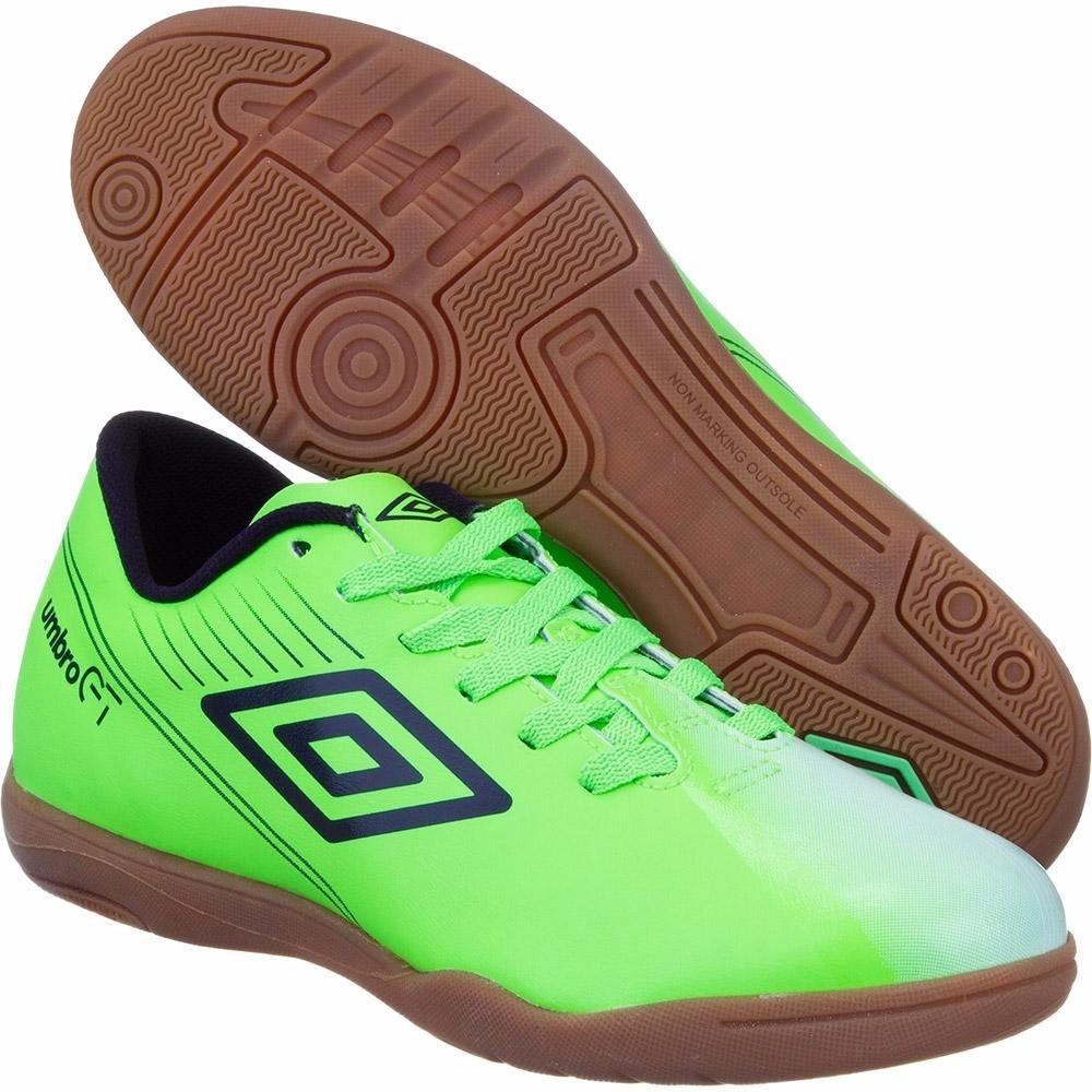 Chuteira De Futsal Indoor Umbro Gt Ii Br League - Verde - R  120 25dc9dd90db88
