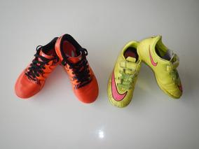 87e4ca7651eea Chuteira Da Nike Ou Adidas Infantil - Esportes e Fitness com Ofertas  Incríveis no Mercado Livre Brasil