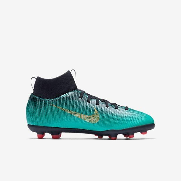 ee89b92c57 Chuteira Infantil Campo Nike Mercurial Club Cr7 Original - R  419