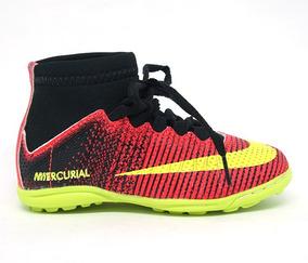 79c8169535bf2 Chuteira Da Nike Cano Alto De Soçaity Tamanho 35 36 - Esportes e Fitness no Mercado  Livre Brasil