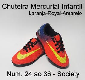 84c5358fbb Chuteira Society Feminina Rosa Barata - Chuteiras Society de Grama  sintética no Mercado Livre Brasil