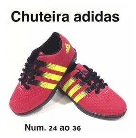 af6a26046d582 Chuteira Society Infantil Numero 29 E 30 - Esportes e Fitness com Ofertas  Incríveis no Mercado Livre Brasil
