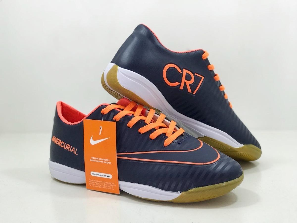 chuteira juvenil futsal cristiano ronaldo cr7 infantil. Carregando zoom. 1a78a04293422