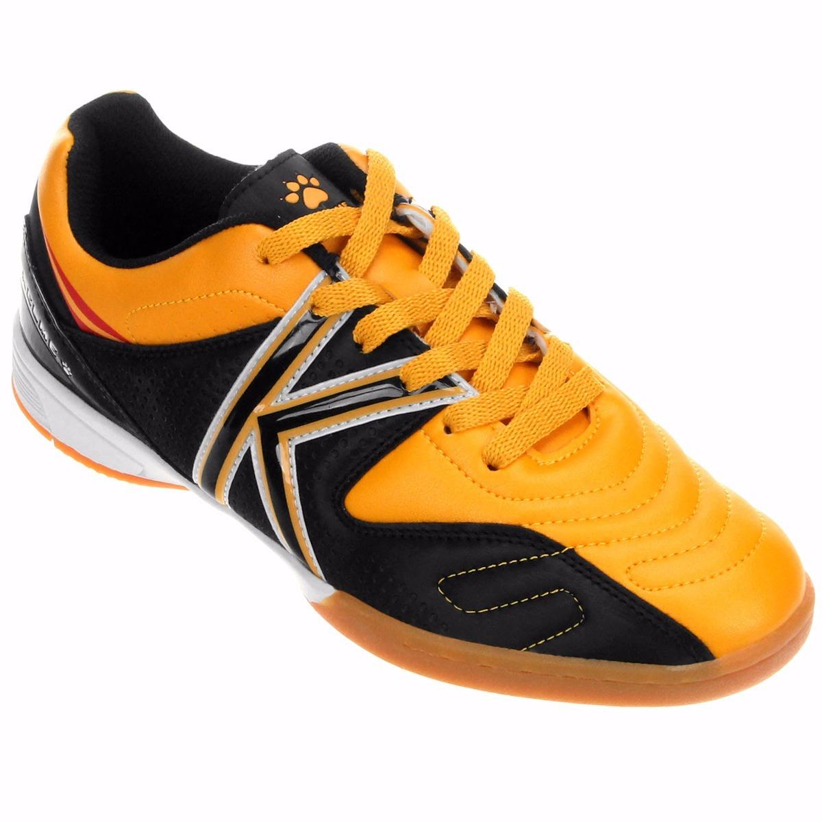 b8c150d7bff1c Chuteira Kelme Madrid Indoor Futsal Infantil + Nf - R  129