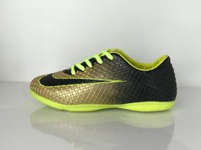 d983314838 Chuteira Do Cr7 Futsal Dourada - Esportes e Fitness no Mercado Livre Brasil