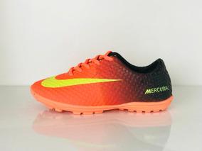 7c575bbbfa Chuteira Nike Marquis Society Promoção - Chuteiras Adultos Grama sintética  Dourado no Mercado Livre Brasil