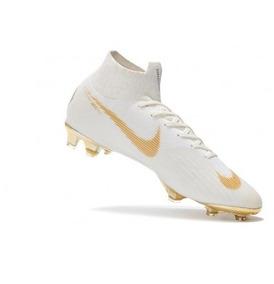 37b1ab5859304 Novas Chuteiras Nike Neymar Dourada E Rosa - Chuteiras no Mercado Livre  Brasil