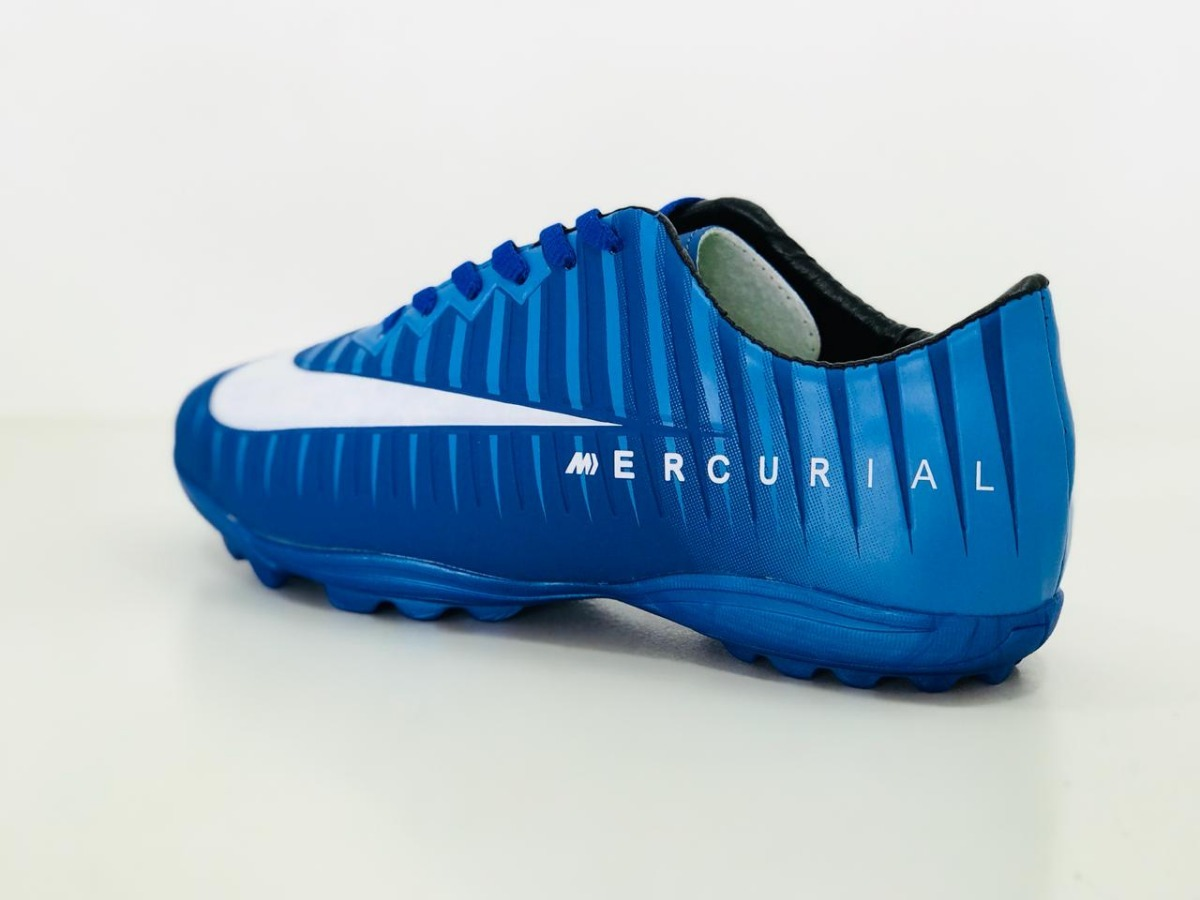 Chuteira Mercurial Vapor 12 Academy Tf Society Neymar - R  69 a1dd856193dac