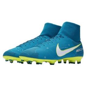 15e0b88901eba Chuteira Campo Nike Neymar Azul - Chuteiras no Mercado Livre Brasil