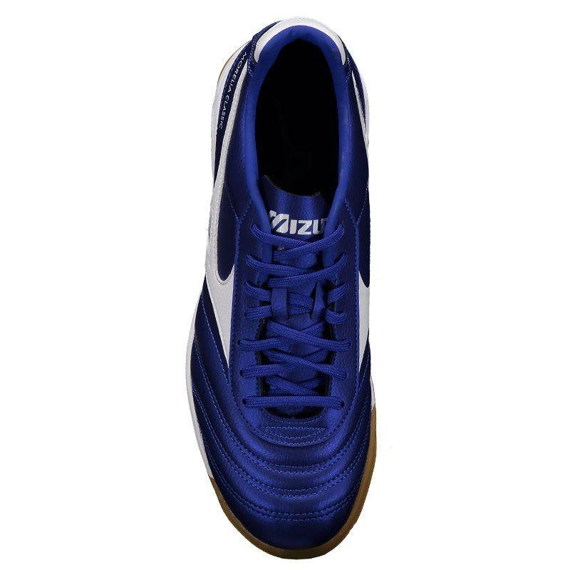 43f3350a26d1b Chuteira Mizuno Morelia Classic Futsal Azul - R$ 279,90 em Mercado Livre