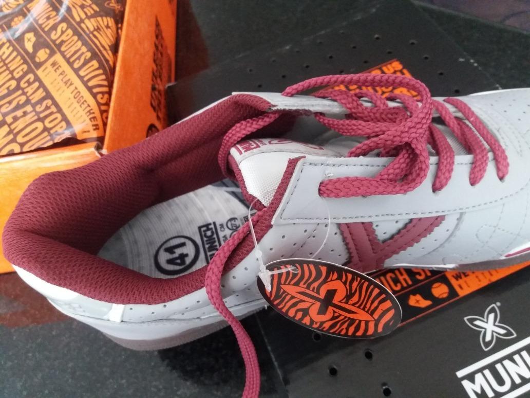 6bb5e82ab5 Chuteira Munich Futsal G3 N°39 Original - R  467
