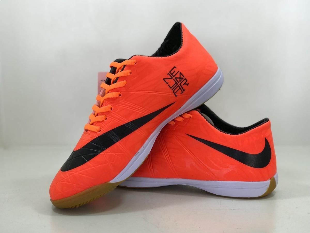 chuteira neymar laranja futsal adulto top-fg. Carregando zoom. fce9d8e42cb5a