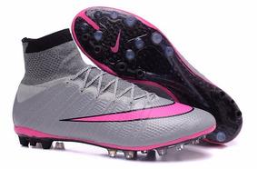 90fa40d8a8 Chuteira Society Nike Botinha - Chuteiras Nike de Grama sintética para  Adultos no Mercado Livre Brasil