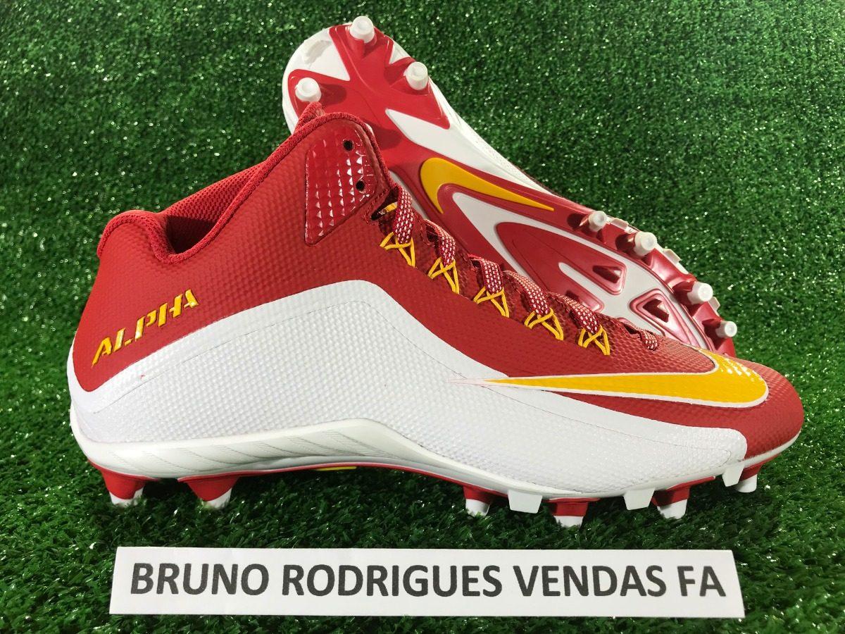 fbc6aa6eb Chuteira Nike Alpha Pro 2 3 4 Tamanho 46 (13 Usa) - R  269