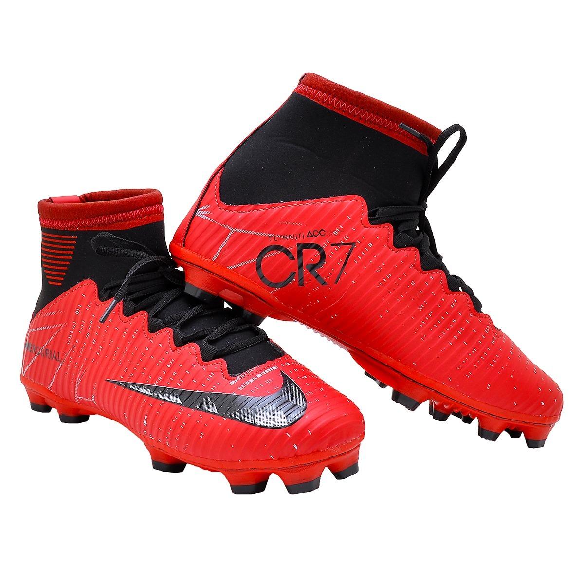 14c145c252 Chuteira Nike Campo Cr7 Barata ( Promoção Compre 2 E Leve 3) - R ...