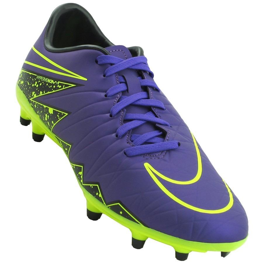 566c1691b3 Chuteira Nike Campo Hypervenom Phelon Ii Adulto 749896-550 - R  235 ...