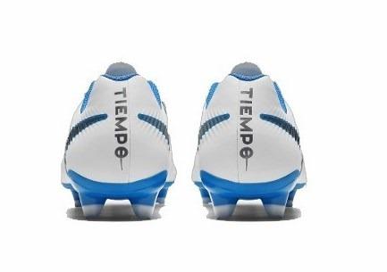 Chuteira Nike Campo Legend 7 Academy Fg Bco azul cinza - R  369 a6e2d9d395a59