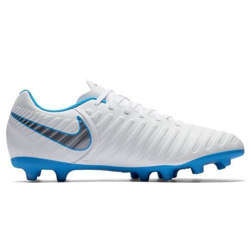 9316fc0124 Chuteira Nike Campo Legend 7 Club Fg Bco azul cinza - R  219