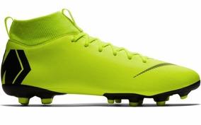 0c1418bf56 Chuteiras Nike Campo Verde Limao - Futebol no Mercado Livre Brasil