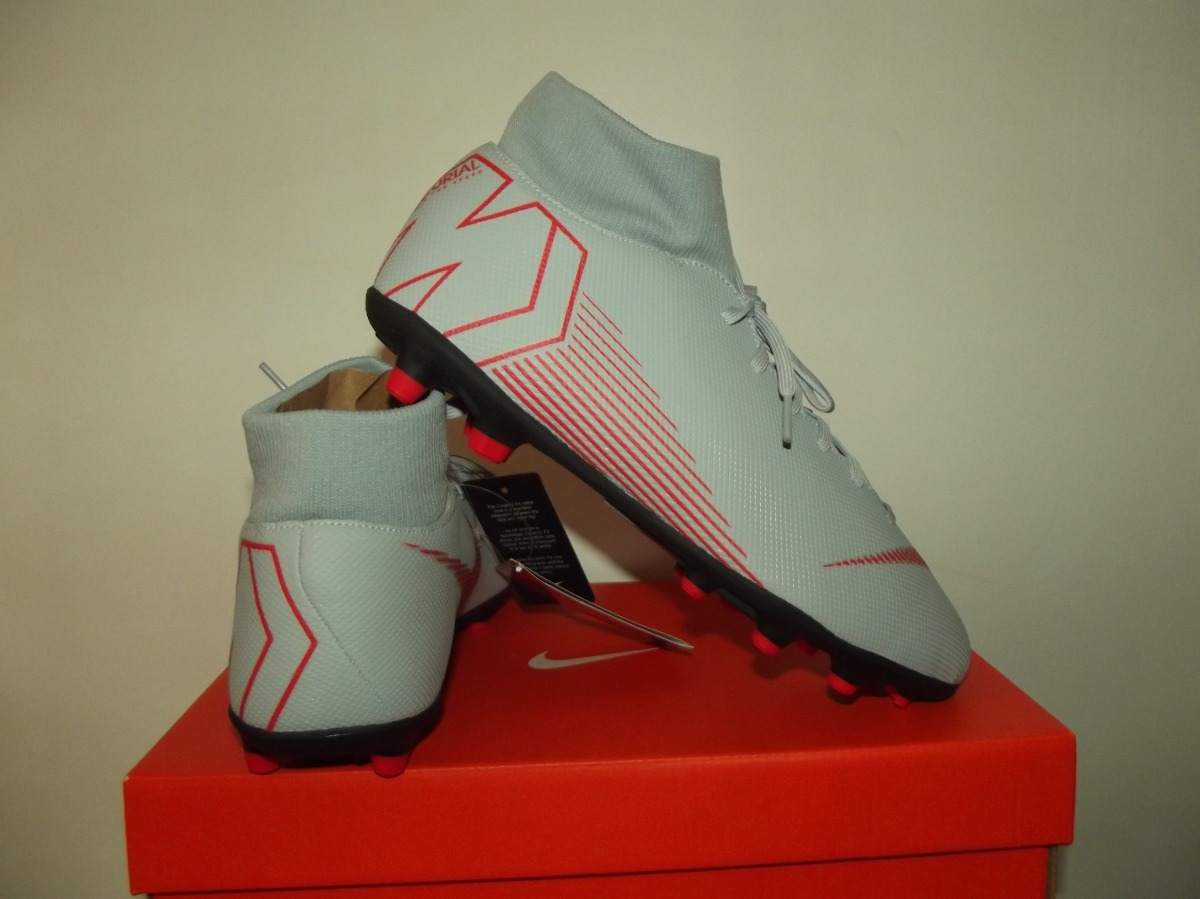 Chuteira Nike Campo Mercurial Superfly 6 Club Fg mg Original - R ... 2eafcd5e1e24a