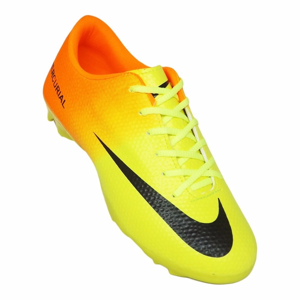49817434a7 Chuteira Nike Campo Vortex 3 Neymar Jr Pta Azl Pto Nike