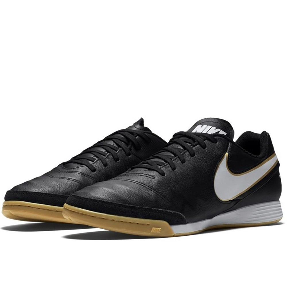 Chuteira Nike Tiempox Genio Leather 2 Ic - Futsal - Original - R ... c183c9f706078