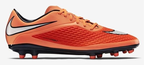 Chuteira Nike Hypervenom Phelon Fg Campo Laranja - 41 - R  252 42100af550721