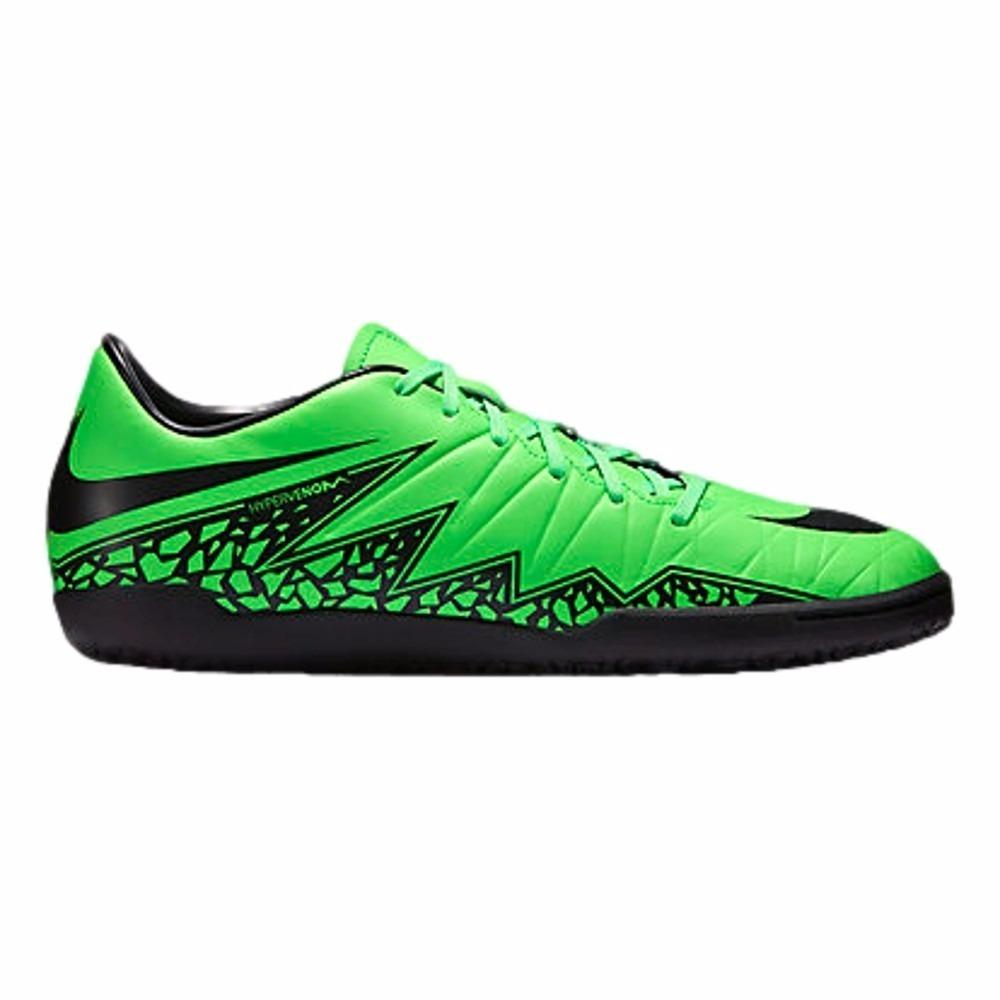 8430c62f3268c Chuteira Nike Hypervenom Phelon Ii Ic Futsal Original Verde - R  200 ...