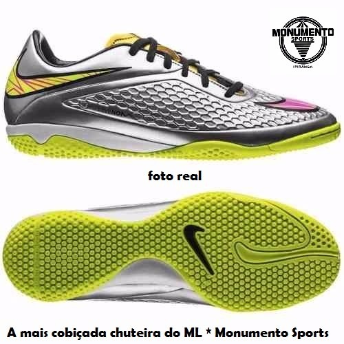 93ec465977 Chuteira Nike Hypervenom Phelon Prem Ic Neymar Original Prot - R ...