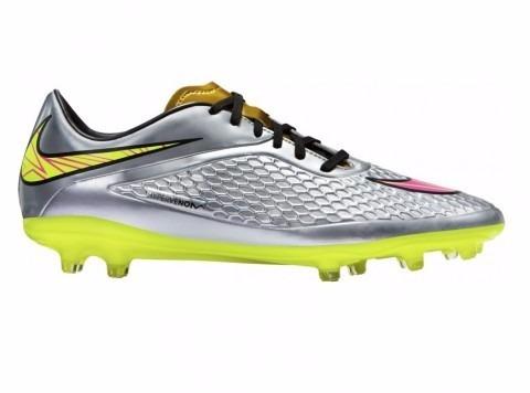 Chuteira Nike Hypervenom Phelon Premium Fg 677585-069 Prata - R  279 ... 985af552c3048