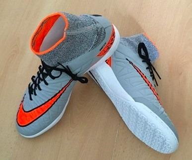 Chuteira Nike Hypervenom X Botinha Para Futsal Nova Original - R ... 81995678acf31