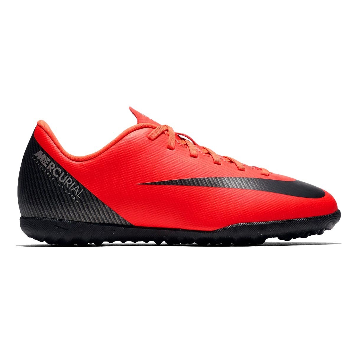 chuteira nike infantil jr vapor x 12 club gs cr7 tf society. Carregando  zoom. b80705c6c7169