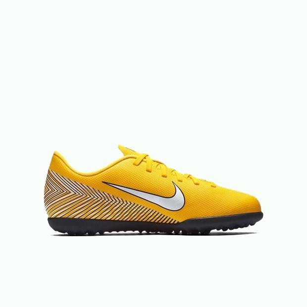 6a4ba068ee Chuteira Nike Infantil Vapor 12 Club Gs Neymar Tf Society - R  269 ...