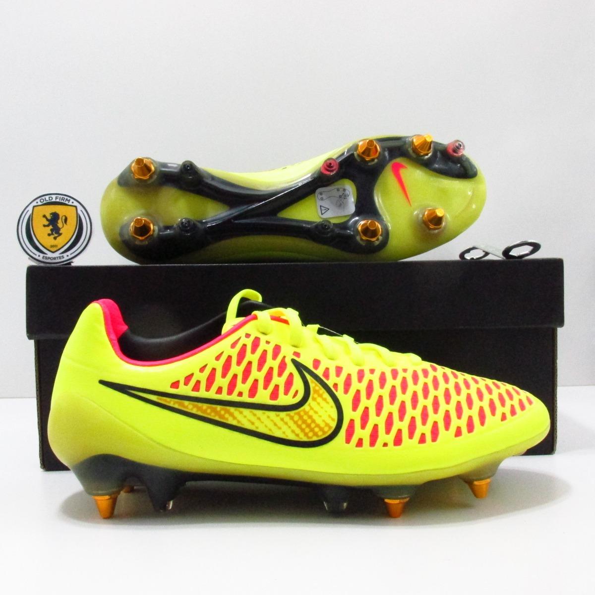 Chuteira Nike Magista Opus Sg Elite Original Produto Europeu - R ... e603ed952de33