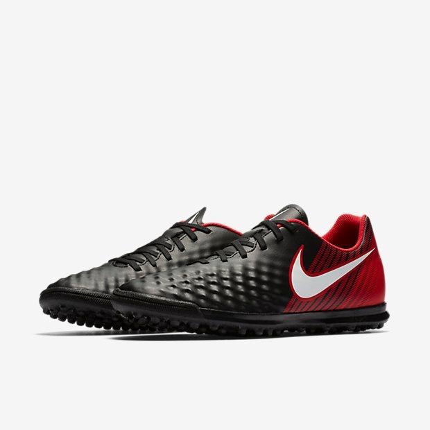 Chuteira Nike Magistax Ola Ii Tf Vermelha Original - Netfut - R  299 ... bc923e2c5b2f1